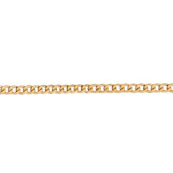 Αλυσίδα Κουρμέτ Χρυσή 50cm