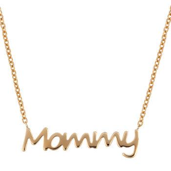 Κρεμαστό Mommy Χρυσό Ματάκι Φίλντισι 14K