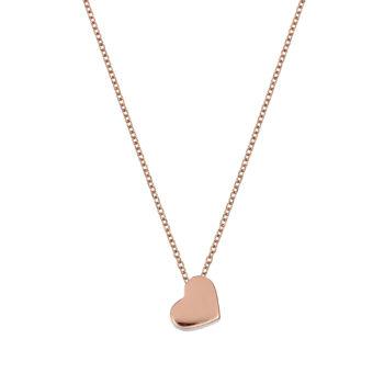 Κρεμαστό-Καρδιά Ροζ Χρυσός 14K