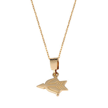 Ζώδιο Χρυσός Σύμβολο 14K