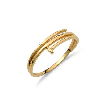 Δαχτυλίδι Love Χρυσό