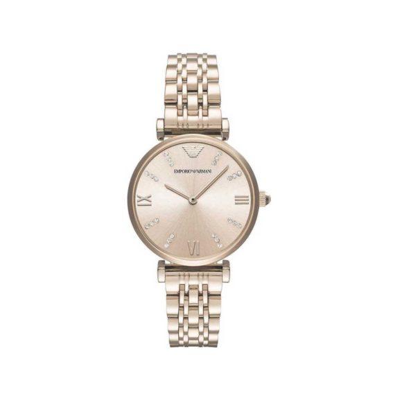 Emporio Armani Gianni T Bar Rose Gold Women's Watch AR11059