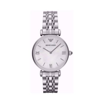 Emporio Armani Gianni T Bar Silver Women's Watch AR1682 AR1682