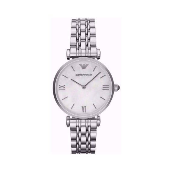Emporio Armani Gianni T Bar Silver Women's Watch AR1682 AR1682