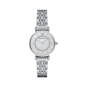 Emporio Armani Gianni T Bar Silver Women's Watch AR1908