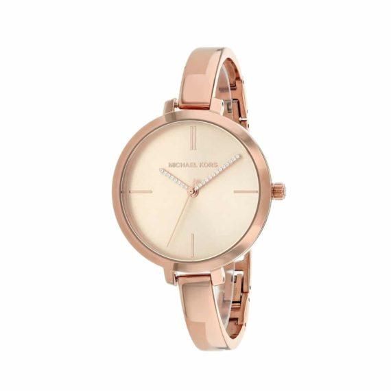 Michael Kors Jaryn Crystals Rose Gold Women's Watch MK3735