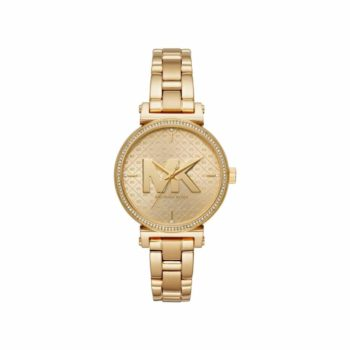 Michael Kors Sofie Crystals Gold Women's Watch MK4334