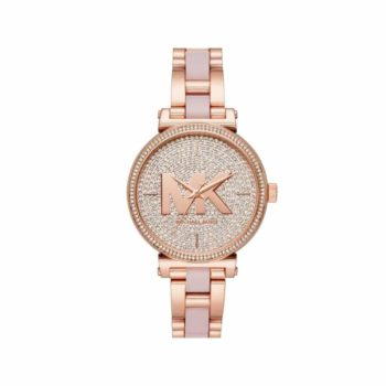 Michael Kors Sofie Crystals Rose Gold Women's Watch MK4336