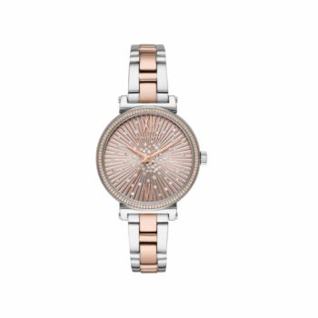 Michael Kors Sofie Crystals Two Tone Women's Watch MK3972