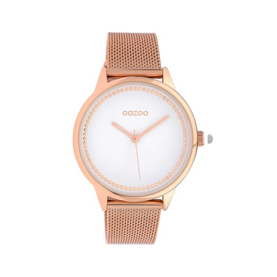 OOZOO Timepieces Rose Gold Metallic Women's Watch C10093