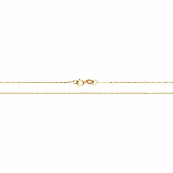 Αλυσίδα Χρυσή Τετράγωνη 40 Cm 002913