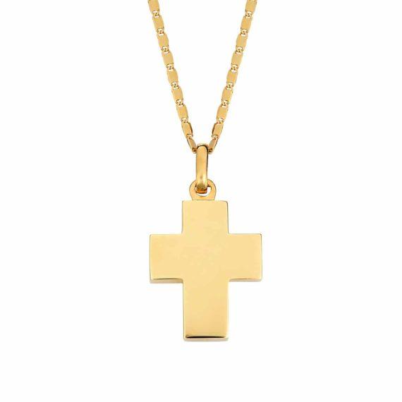 Χοντρός Σταυρός Χρυσός 002896
