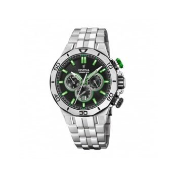 Festina Chrono Bike Men's Watch Green Hands F20448 6
