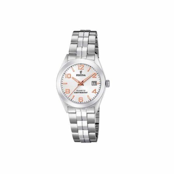 Festina Classic Stainless Steel Women's Watch F20438 4