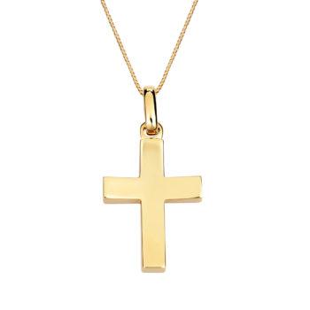 Σταυρός Απλός Χρυσός 002907