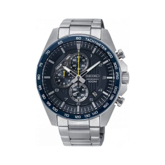 Seiko Chronograph Tachymeter Men's Watch SSB321P1