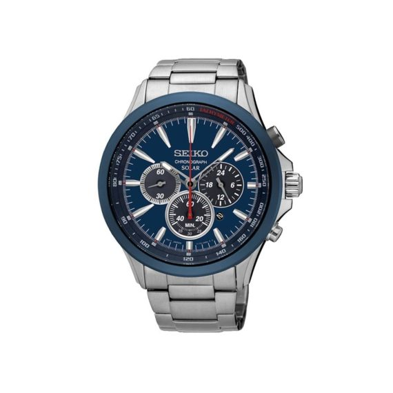 Seiko Solar Power Chronograph Men's Watch SSC495P1