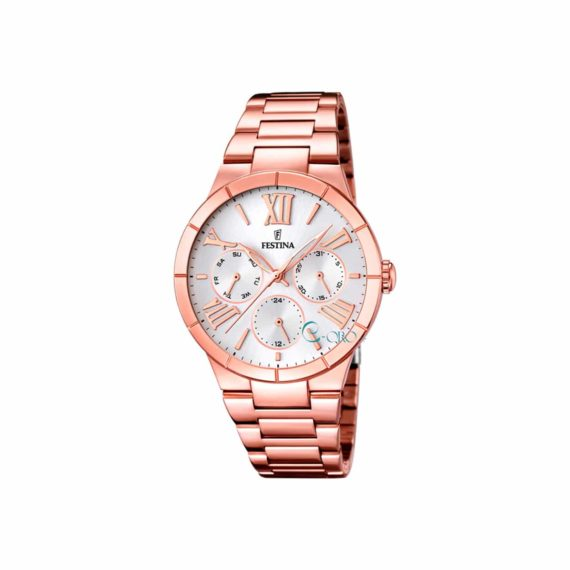 Festina Multifunction Rose Gold Women's Watch F16718 9
