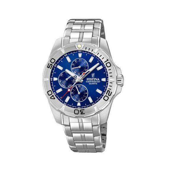 Festina Multifunction Stainless Steel Men's Watch F20445 2