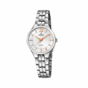 Festina Silver Stainless Steel Bracelet Women's Watch F20216 1