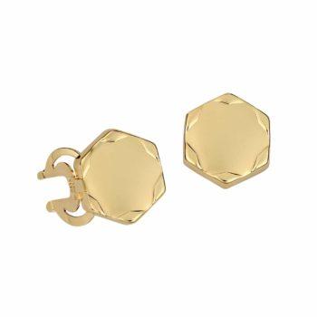 Μανικετόκουμπα Αστεράκια Χρυσά 002958