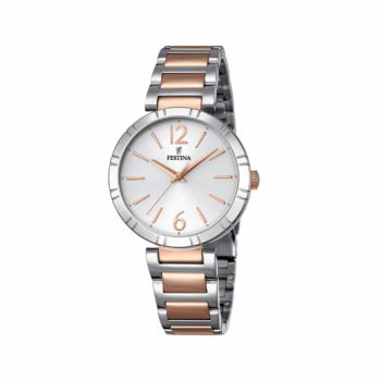 Festina Mademosiselle Silver Rose Gold Women's Watch