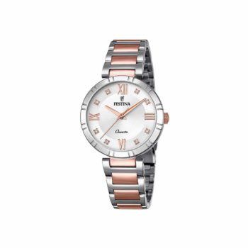 Festina Mademosiselle Silver Rose Gold Women's Watch F16937 D