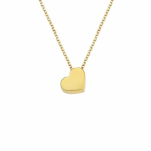 Κρεμαστό Καρδούλα Χρυσό 002971