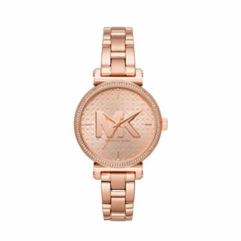 Michael Kors Sofie Crystals Rose Gold Women's Watch MK4335