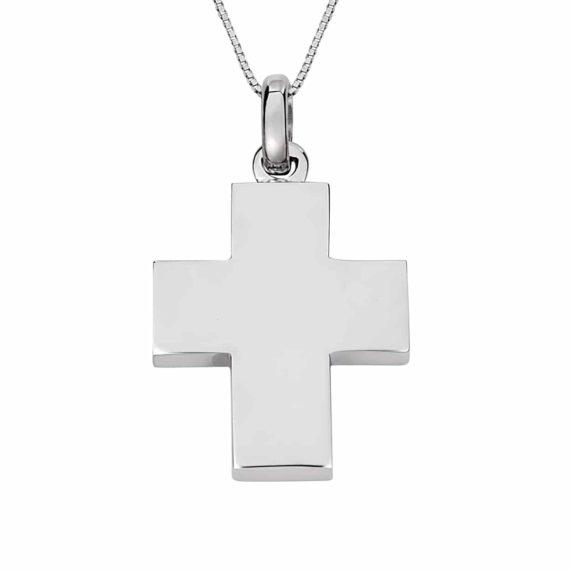 Σταυρός Φαρδύς Λευκόχρυσος 002982