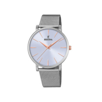 Festina Boyfriend Silver Gold Women's Watch – F20475/3