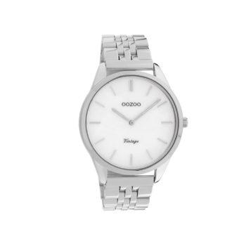OOZOO Vintage Silver Unisex Watch – C9980
