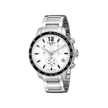 Tissot T-Sport Quickster Silver-Black Chronograph Men's Watch – T095.417.11.037.00