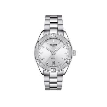 Tissot T-Classic PR100 Silver Women's Watch – T101.910.11.031.00
