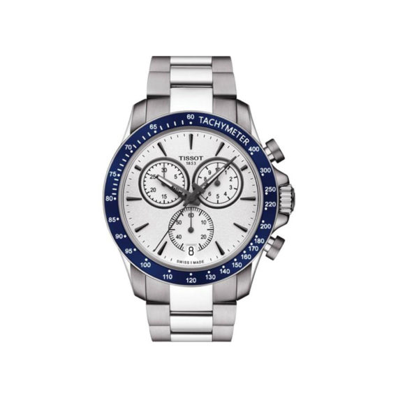 T106.417.11.031.00 Tissot T Sport V8 Blue Silver Chronograph Men's Watch Jewelor