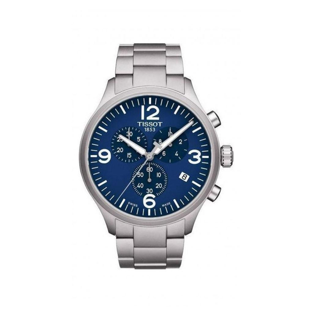 T116.617.11.047.00 Tissot Chrono XL Classic Blue Chronograph Men's Watch Jewelor