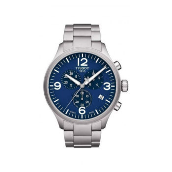 Tissot Chrono XL Classic Blue Chronograph Men's Watch – T116.617.11.047.00