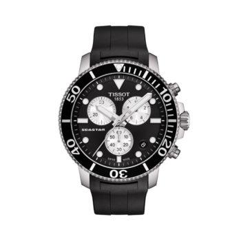 Tissot Seastar 1000 Silver-Black Men's Watch – T120.417.17.051.00