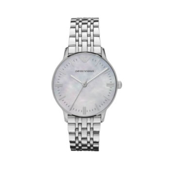 Emporio Armani Classic Silver Women's Watch – AR1602