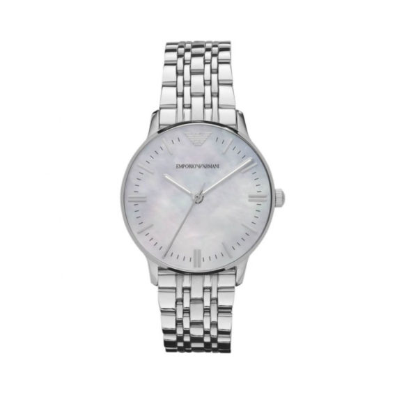 Emporio Armani Classic Silver Women's Watch AR1602 Jewelor
