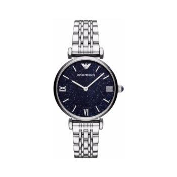 Emporio Armani Gianni T-Bar Silver Women's Watch – AR11091