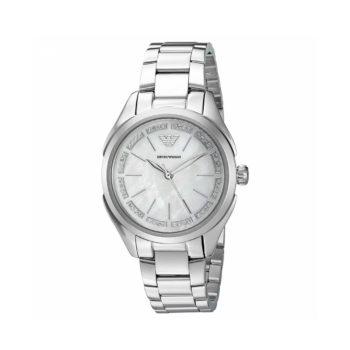 Emporio Armani Valeria Silver Women's Watch – AR11030