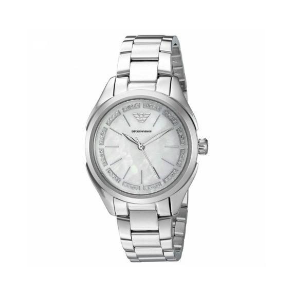 Emporio Armani Valeria Silver Women's Watch AR11030 Jewelor
