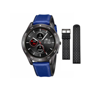 Lotus Smartime Black-Blue Men's Smartwatch – 50012/2