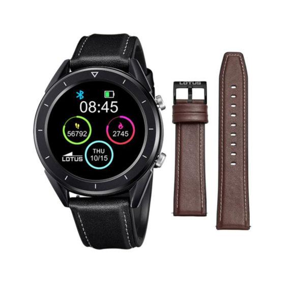Smartwatch Lotus Smartime Black Men's Watch 50009 1 Jewelor
