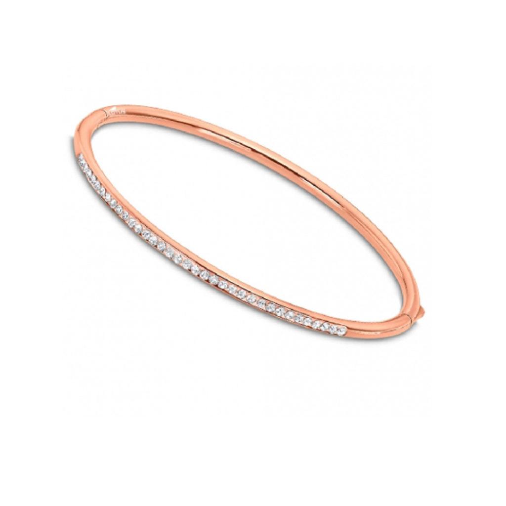 Βραχιόλι Bliss Lotus Style Με Ζιργκόν LS2111 2 3 Jewelor