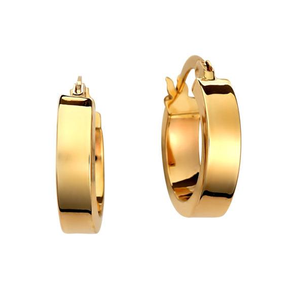Κρεμαστά Σκουλαρίκια Κρίκοι Μικροί Χρυσά 003108 Jewelor