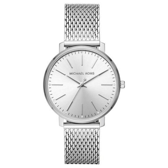 Michael Kors Pyper Silver Women's Watch ΜΚ4338 Jewelor