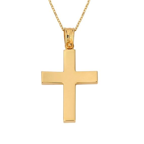 Σταυρός Χρυσός 14Κ 003144 Jewelor