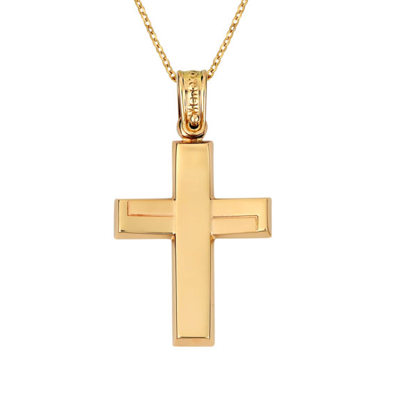 Σταυρός Πομπέ Χρυσός 14Κ 003132 Jewelor